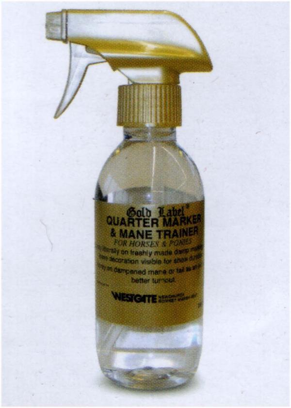 Gold Label Quarter Marker and Mane trainer :250ml: